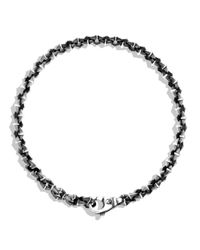 David Yurman | Metallic Armory Extra Small Link Bracelet for Men | Lyst