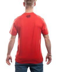 Santa Cruz   Red Rob Face Short Sleeve T-shirt for Men   Lyst