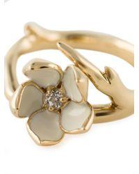 Shaun Leane | Metallic 'cherry Blossom' Topaz Ring | Lyst