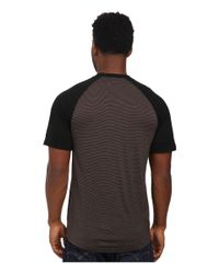 Smartwool - Brown Nts Micro 150 Combo Tee for Men - Lyst