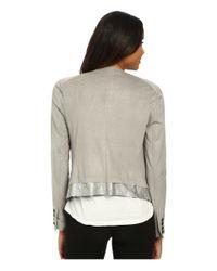 Lyssé | Metallic Origami Jacket | Lyst
