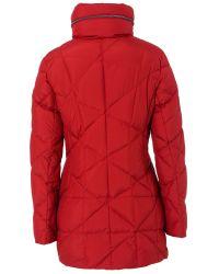 Basler | Red Padded Short Coat | Lyst