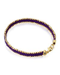 Astley Clarke | Purple Lost Magic Nugget Bracelet | Lyst