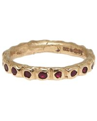 Ruth Tomlinson | Metallic Ruby Eternity Ring | Lyst
