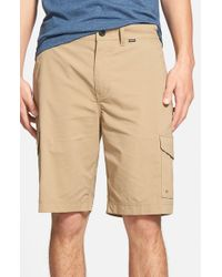 Hurley - Natural Dri-fit Cargo Shorts for Men - Lyst