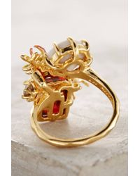 Les Nereides - Metallic Grillon Ring - Lyst