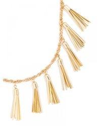 BaubleBar - Metallic Gold Tassel Strand - Lyst