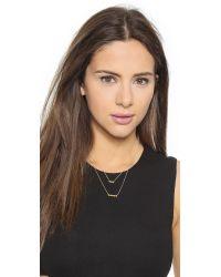 Gorjana - Metallic Ryder Layered Necklace - Gold - Lyst