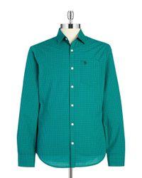 Original Penguin | Green Plaid Sportshirt for Men | Lyst