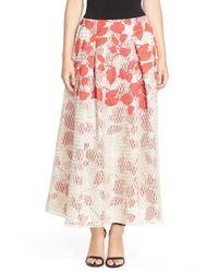 Sachin & Babi | Natural 'akako' Mesh & Organza Ballgown Skirt | Lyst