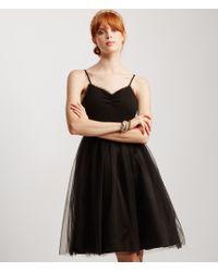 Aéropostale | Black Ruched Detail Tulle Tutu Dress | Lyst