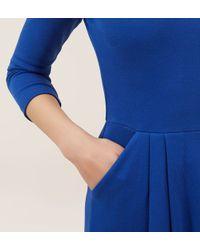 Hobbs | Blue Emma Dress | Lyst