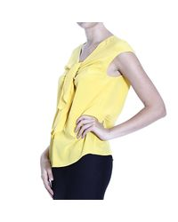 Boutique Moschino | Yellow Top | Lyst
