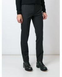 KENZO | Gray Classic Formal Trousers for Men | Lyst