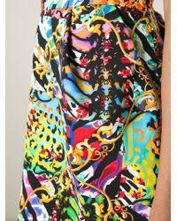 Versus | Multicolor Mixed Prints Mini Skirt | Lyst