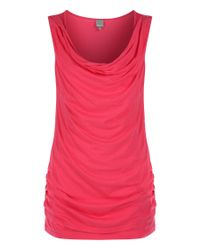 Bench | Pink Hometimes Cowl Neck Vest Top | Lyst