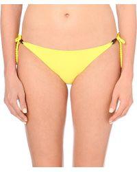 Heidi Klein | Yellow Formentera Bikini Bottoms, Women's, Size: S, Yel-formentera | Lyst