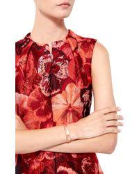 Joelle Jewellery | Metallic 18K Pink Gold Wide Lace Bangle | Lyst