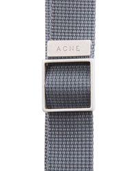 Acne Studios - Gray Baldwin Bracelet for Men - Lyst