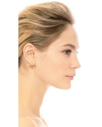 Katie Diamond - Metallic Temma Earrings - Lyst