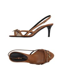 Burberry - Natural Sandals - Lyst