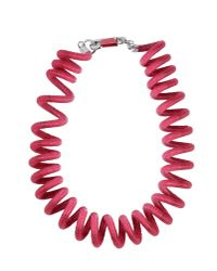 KENZO | Pink Necklace | Lyst