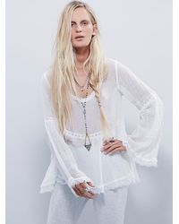Free People | White Endless Summer Womens Favorite Tunic | Lyst