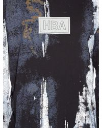 Hood By Air - Black Acid Rin Long-sleeved Jersey T-shirt for Men - Lyst