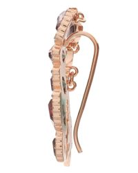 Ca&Lou | Metallic Pink & Topaz Single Ear Cuff | Lyst