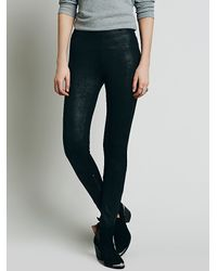 Free People - Black Womens Mosshart Zipper Skinny - Lyst