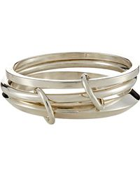 Spinelli Kilcollin | Metallic Jupiter Linked Bangles | Lyst