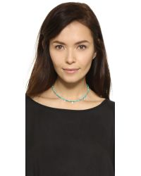 Jacquie Aiche - Metallic Ja Turquoise Choker Necklace - Lyst