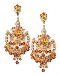 Jose & Maria Barrera | Topaz-colored Drop Earrings | Lyst