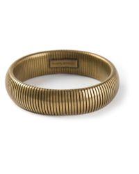 Isabel Marant | Metallic Semirigid Bracelet | Lyst