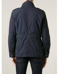 Woolrich - Blue Sports Jacket for Men - Lyst