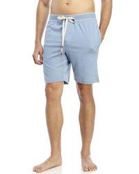 Original Penguin | Blue Knit Jam Lounge Shorts for Men | Lyst