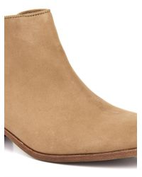 Sam Edelman - Brown Petty Leather Ankle Boots - Lyst