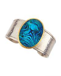 Gurhan | Blue Surf Two-tone Paua Shell Cuff | Lyst