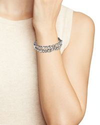 Alexis Bittar - Metallic Elements Crystal Stacking Hinge Cuff - Lyst