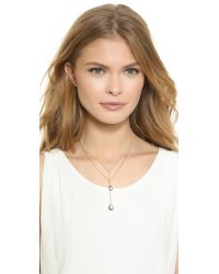 A.V. Max - Metallic Double Layered Drop Necklace - Gold Multi - Lyst