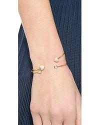 Tai - Metallic Open Stone Bracelet - Lyst