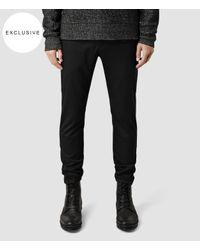 AllSaints - Black Fagin Trouser for Men - Lyst