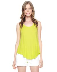 Splendid | Green Swingy Tank | Lyst