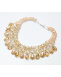 Nakamol - Multicolor Bolero Necklace-citrine - Lyst