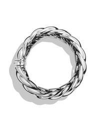 David Yurman | Metallic Hampton Cable Bracelet | Lyst