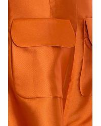 Merchant Archive - Orange Pocket Dress - Lyst