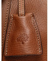 Mulberry | Brown Leather Clipper Weekend Bag for Men | Lyst
