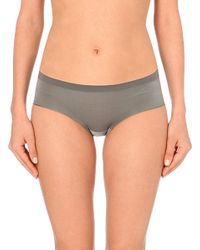 DKNY - Gray Fusion Jersey Hipster Briefs - Lyst