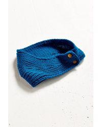 Urban Outfitters - Blue Metal Snap Ear Warmer - Lyst