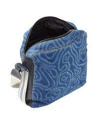John Galliano - Blue Cross-body Bag for Men - Lyst